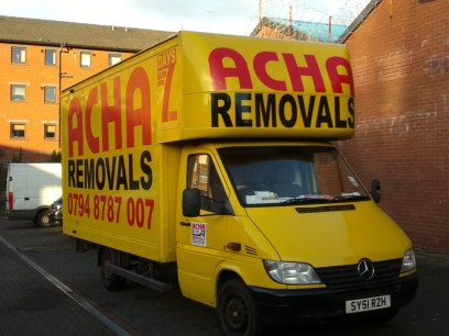 Glasgow to London Removals